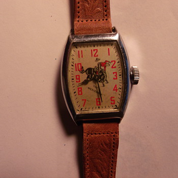 1954 The Westerner  Wrist Watch