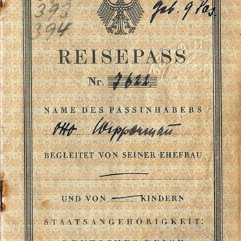 German passport for Spain - Paper
