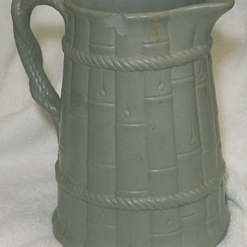 Ridgway Relief Molded Early Jug 1835 - Art Pottery