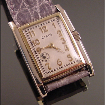 Rare &amp; Unusual Elgin Wristwatch