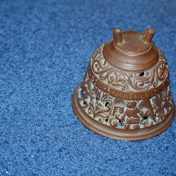 Small brass bell- replica ?