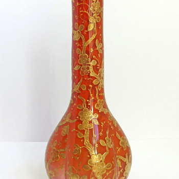 Early Loetz Gilt Vase