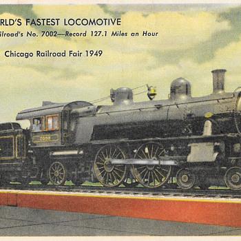 Pennsylvania RailRoad - Postcards