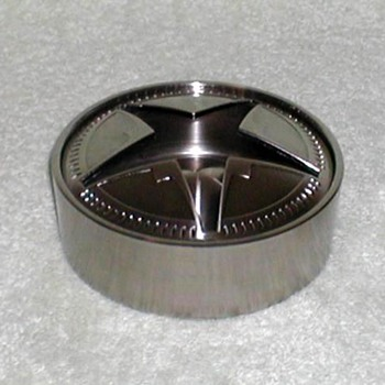 "2006 - Metal ""Star"" Ashtray"