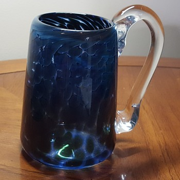 Unusual Glass Tankard