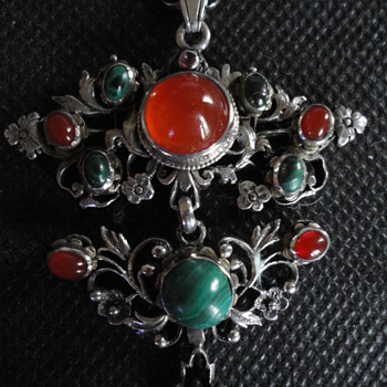 Wonderful 19th century Austro-Hungarian necklace - Fine Jewelry