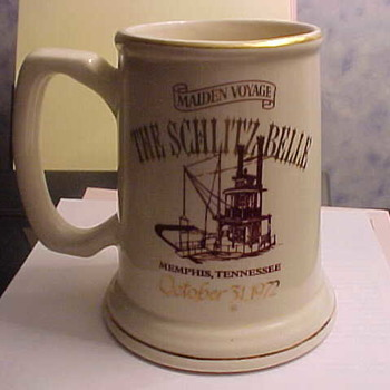 The Schlitz Belle Maiden Voyage Stein