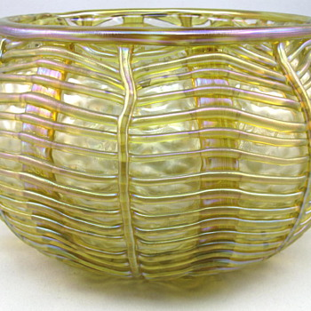 Loetz Eduard Prochaska Bowl - Art Glass