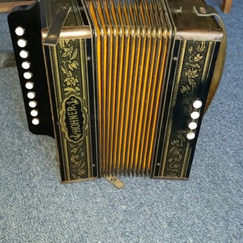 Accordion squeezebox - Musical Instruments