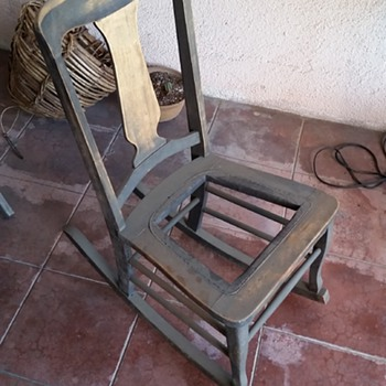 Old Rocking Chair (Please tell me something!) - Furniture