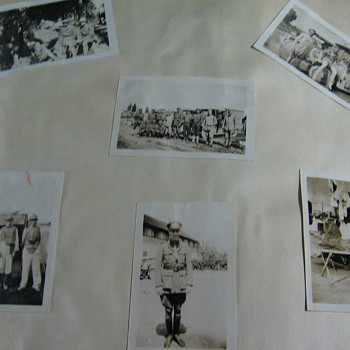More photos including some of his military photos
