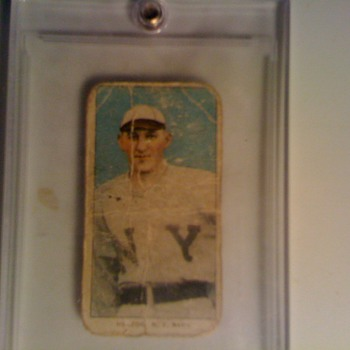 Antique Piedmont tobacco baseball card - Baseball