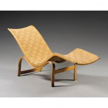 Bruno Mathsson &quot;Pernilla&quot; Chaise Lounge Chair