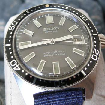 My Vintage Seiko 1st Diver 150m 6217-8001 17 Jewels 1967's