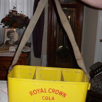 Royal Crown Cola Vendors Carrier - Advertising
