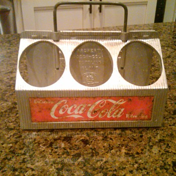 James' Coca Cola carrier