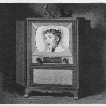 "1952 - Zenith ""Paulding"" Console TV Advertisement"