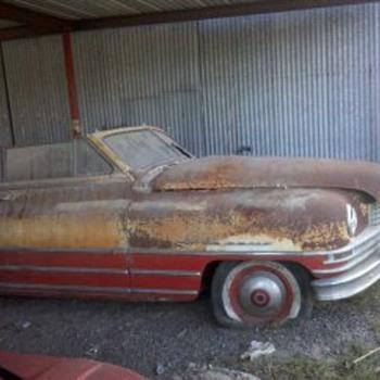 1948 Packard Convertible Monte Carlo edition