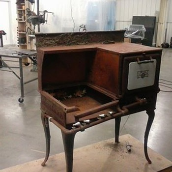 Old Eriez Stove - Kitchen