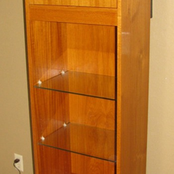 Danish Modern Teak Grandfather/Floor Clock