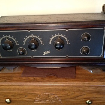 Need Model Number Silvertone Neutrodyne 5-tube 1920s radio - Radios