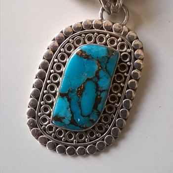 Beautiful Pendant, Belgian Flea Market Find - Fine Jewelry