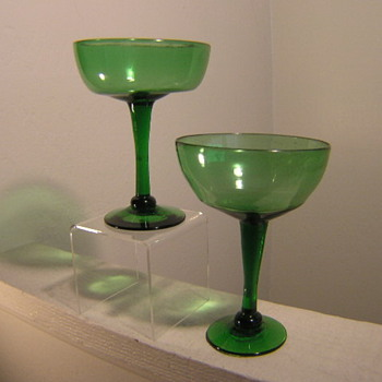 FREE BLOWN FLINT GLASS????? - Glassware