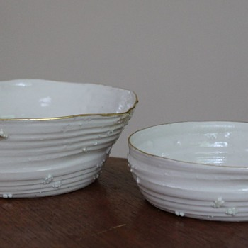 Beautiful handmade porcelain bowls - Art Pottery