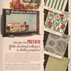 1950 York Wallpaper Advertisement