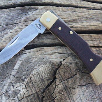 IMPERIAL U.S.A. 'FRONTIER' Model FOLDING LOCKBACK POCKET KNIFE