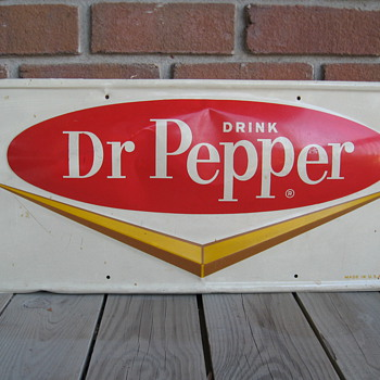 Dr Pepper metal sign - Signs