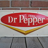 Dr Pepper metal sign