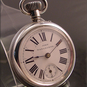 Ingersoll Private Label John Wanamaker Dollar Pocket Watch c.1898 - Pocket Watches