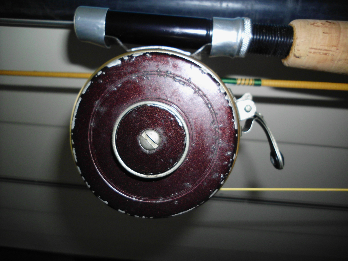 Southbend auto fly reel info collectors weekly for South bend fishing reel