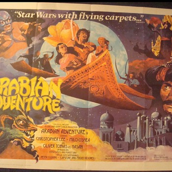 'Arabian Adventure' Movie poster
