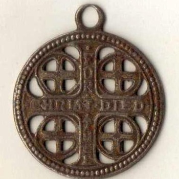 """The Church War Cross"" Pendant"