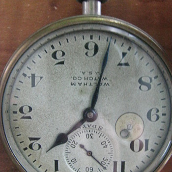 Vintage Pocket Watch Waltham - Pocket Watches