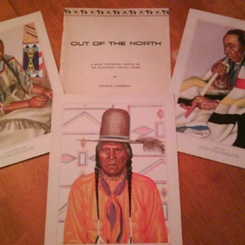 Blackfeet Indian Tribe Prints (set-24)