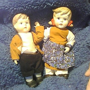 Antique Porcelain Dolls
