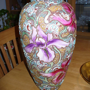 grandma's vase  -  - Pottery