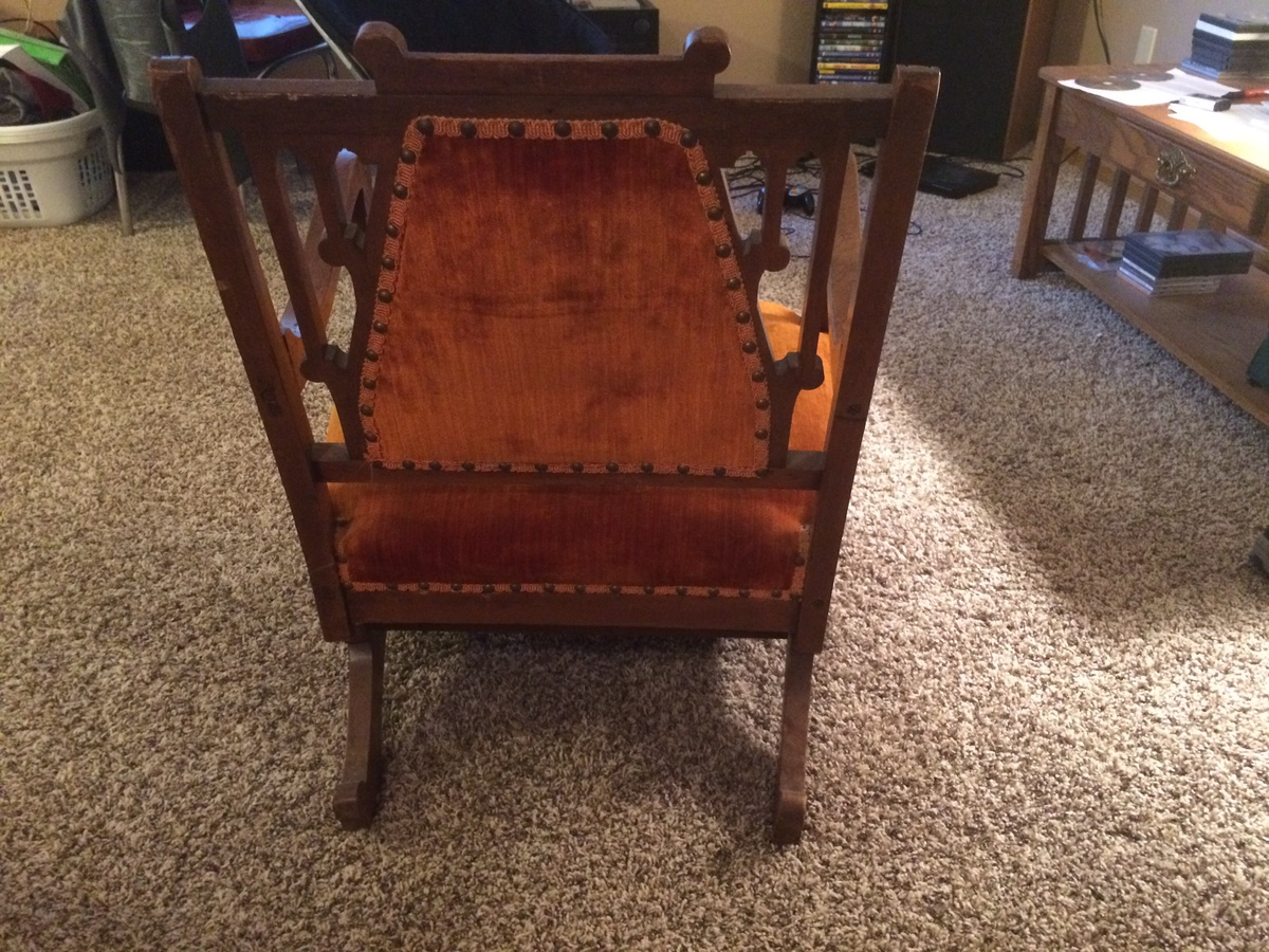 Early 1900 S Rocking Chair Please Help To Identify