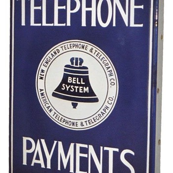 Telephone Payments Sign White Logo