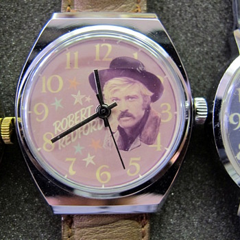 Robert Redford Wristwatch - Wristwatches