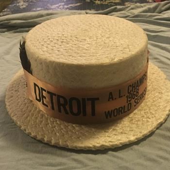 1968 American leauge champions foam hat??