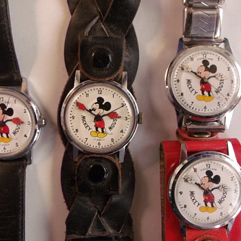 Hamilton(Vantage) Mickey Mouse Wrist Watches - Wristwatches