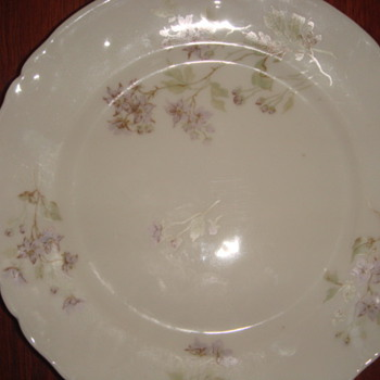 J. Pouyat Limoges China - Pattern? Date?