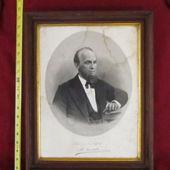 Marcus Miller Pomeroy 1880's engraving/picture - Original? - Posters and Prints