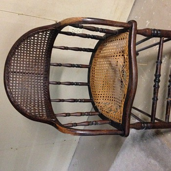 Windsor Cane Arm Chair