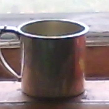 My Sterling Silver Child Cup - Sterling Silver