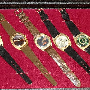 1970's Salesmans Sample Advertising Watch Case - Wristwatches